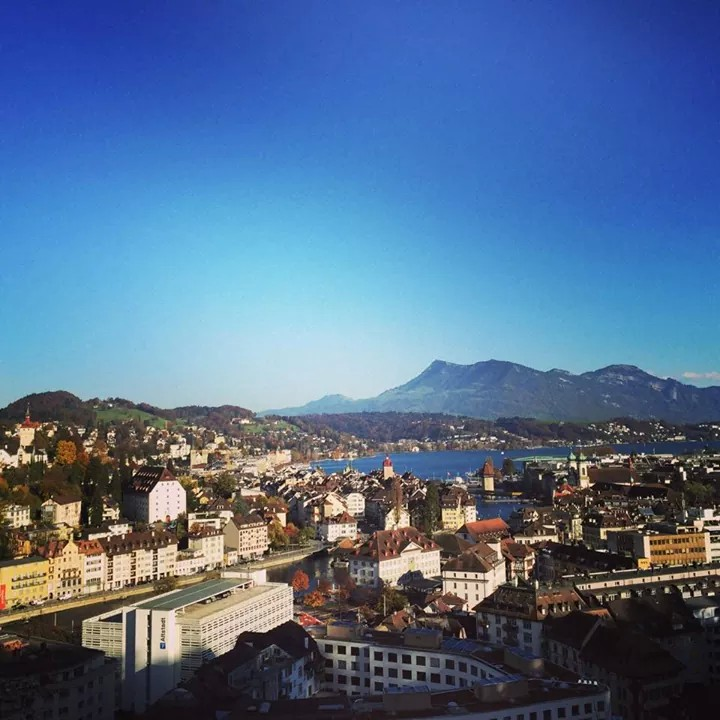 An Idyllic City In Midst Of Mountains Lucerne