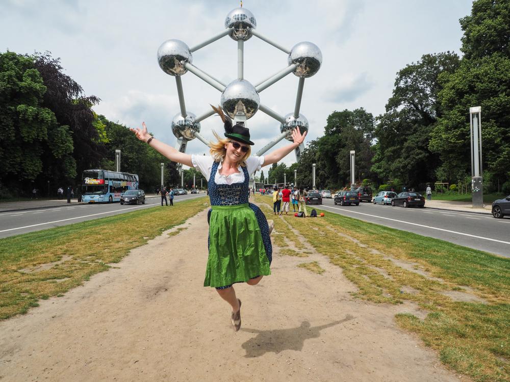 Dirndl Atomium Brussels