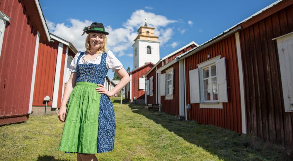 Lulea Dirndl Sweden Lapland