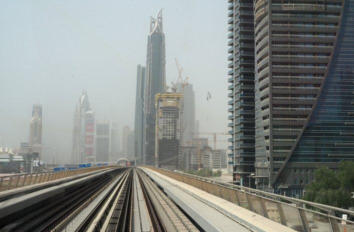 Metro Dubai Take a ride