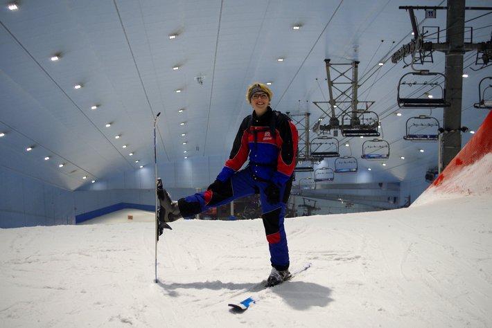 Skiing in Dubai