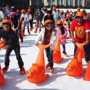 Ice Skating Mexico City