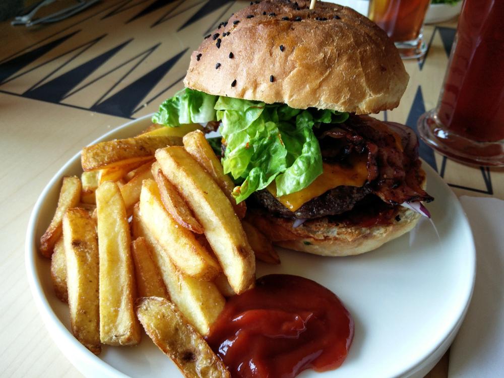 burger miejsce warschau