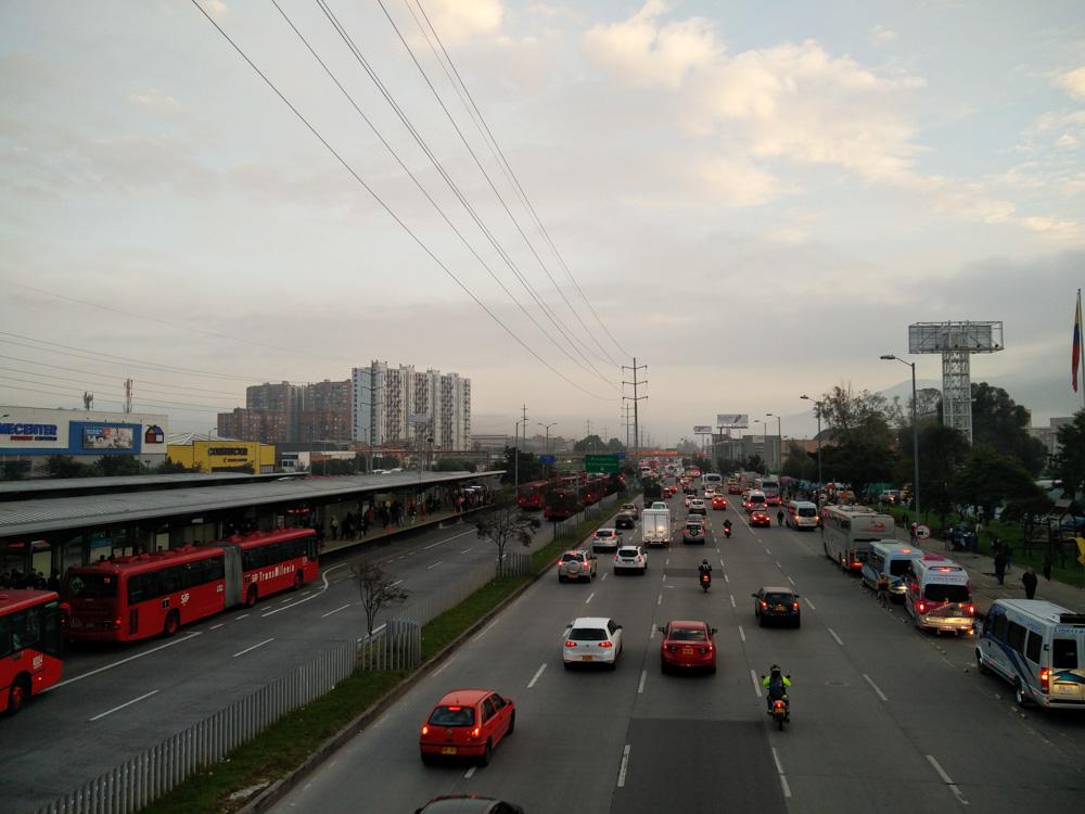 Bogota in the morning