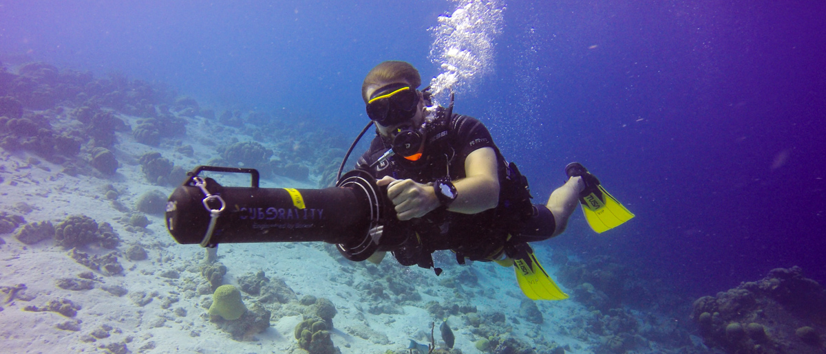 Diving with Underwater Scooters in Bonaire - Chronic ...