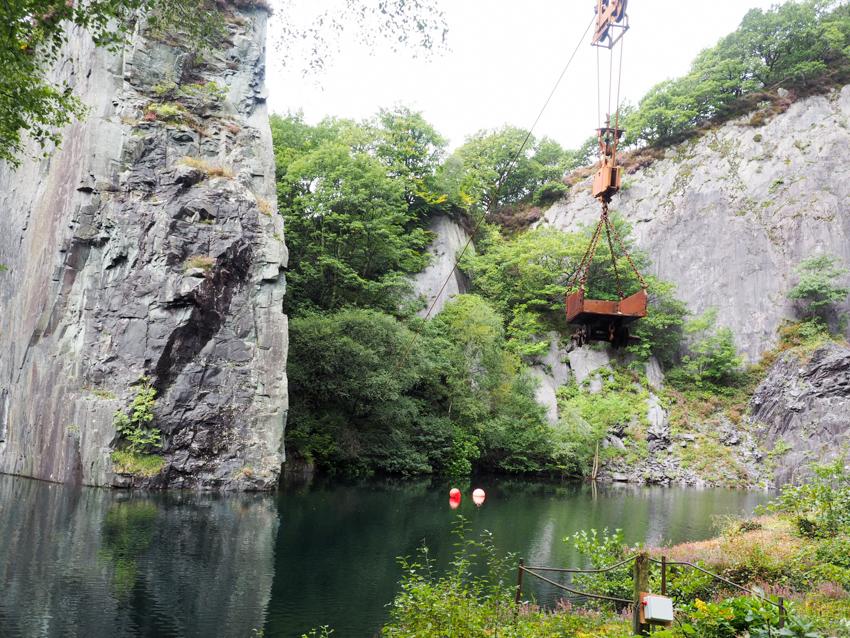 Steinbruch Vivan Quarry Tauche