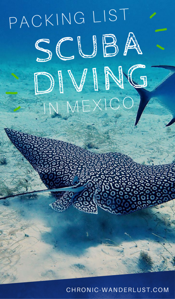 Packing List for Scuba diving vacation in Mexico pinterest