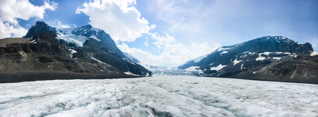 Colombia Icefield Gletscher