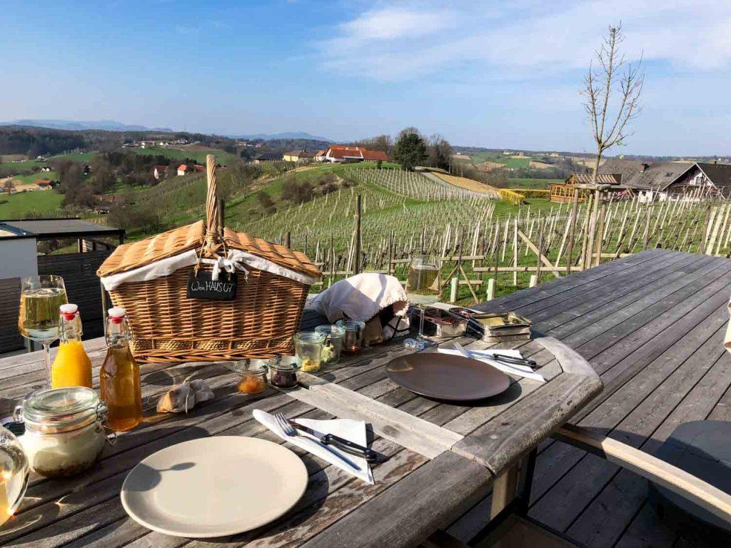 Weingarten Resort Unterlamm Steiermark Roadtrip