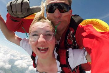 Skydiving in Luxembourg | Ever jumped out of a plane in a Dirndl?