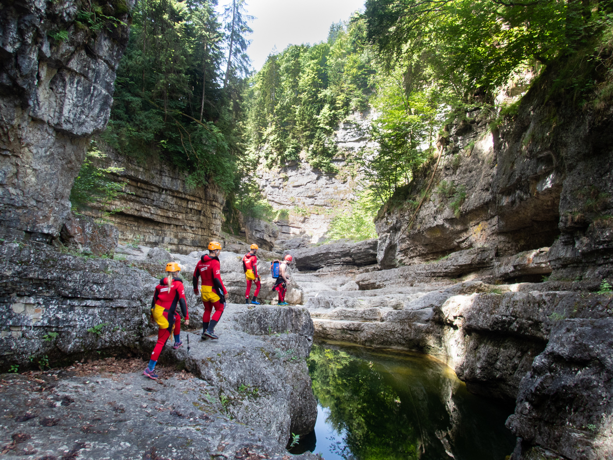 Canyoning Fuschlsee