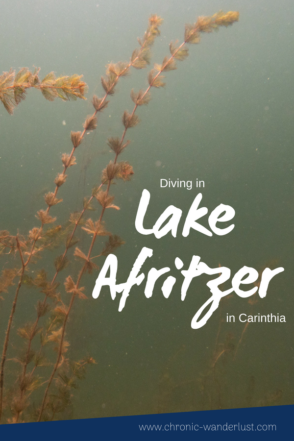 Scuba Diving Lake Afritz Carinthia