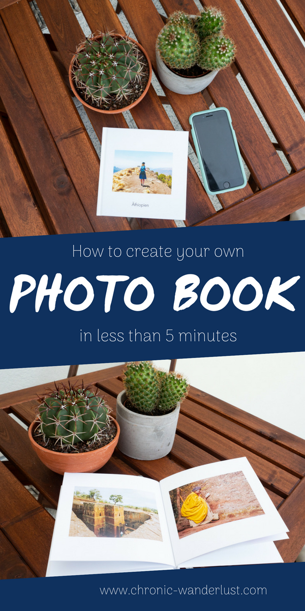 how to create fast photo book
