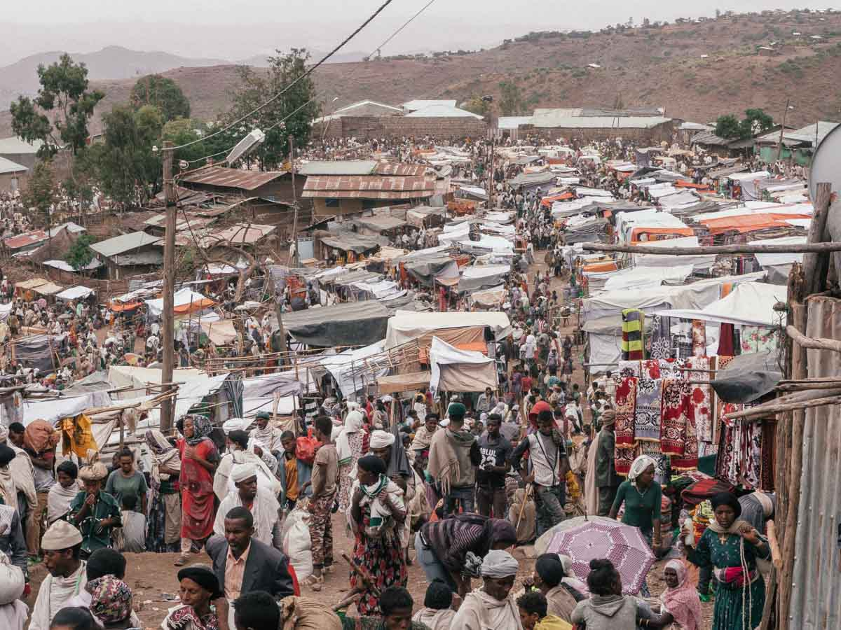 Lalibela Markt