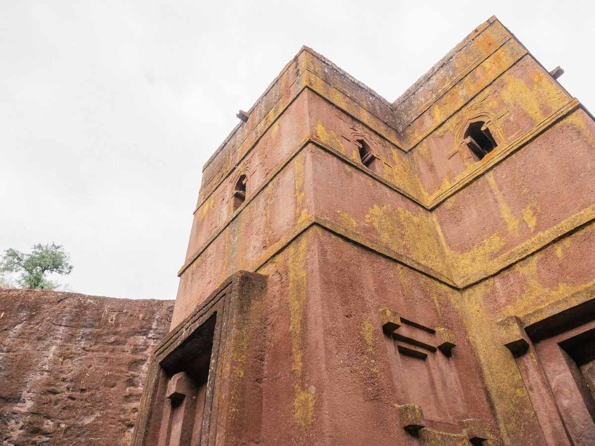 Lalibela Felsenkirche Äthiopien