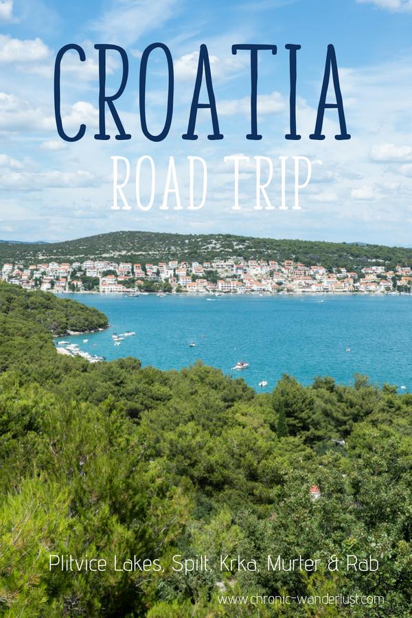 Croatia Road Trip Summer