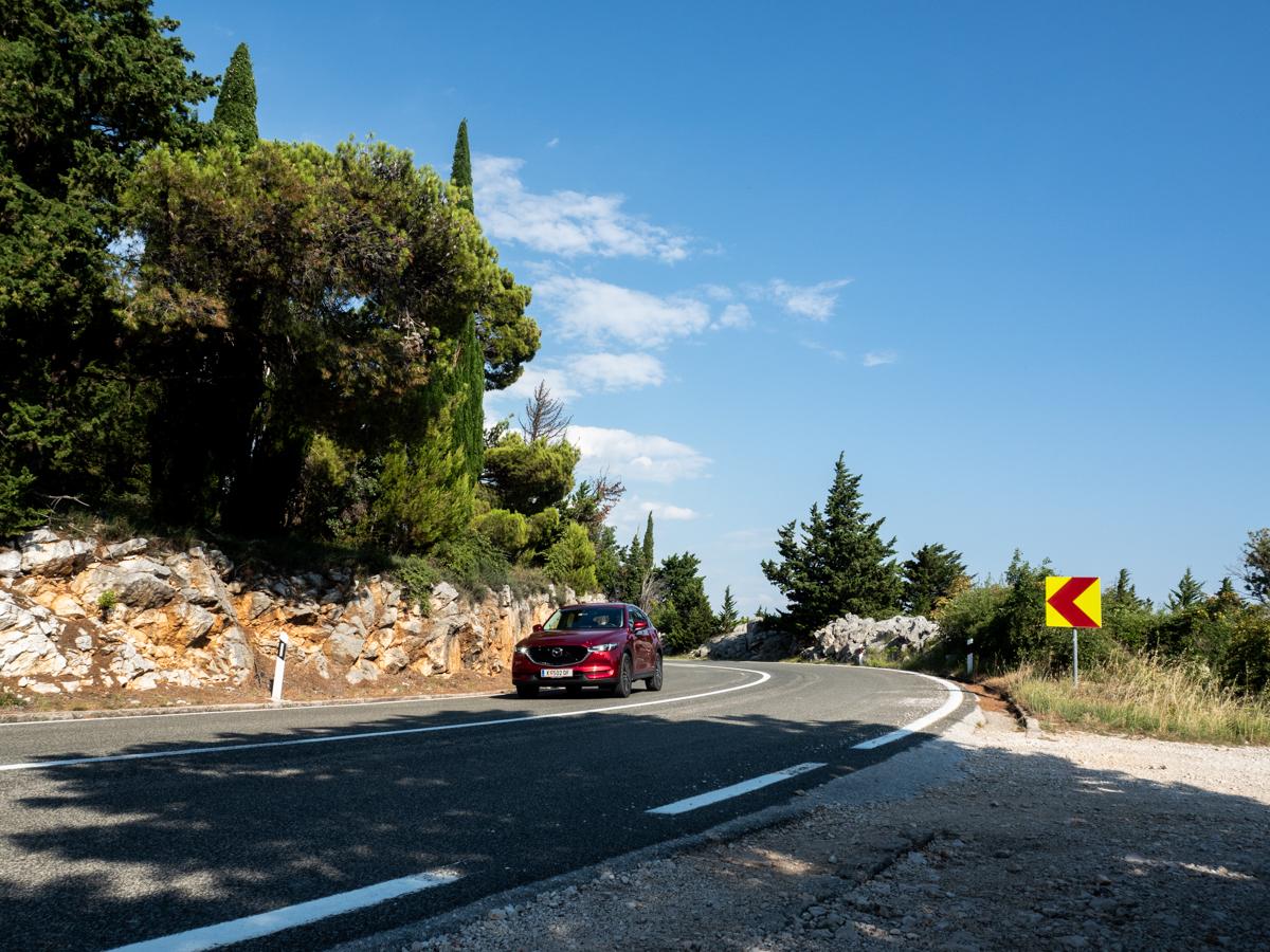 Roadtrip Kroatien Mazda