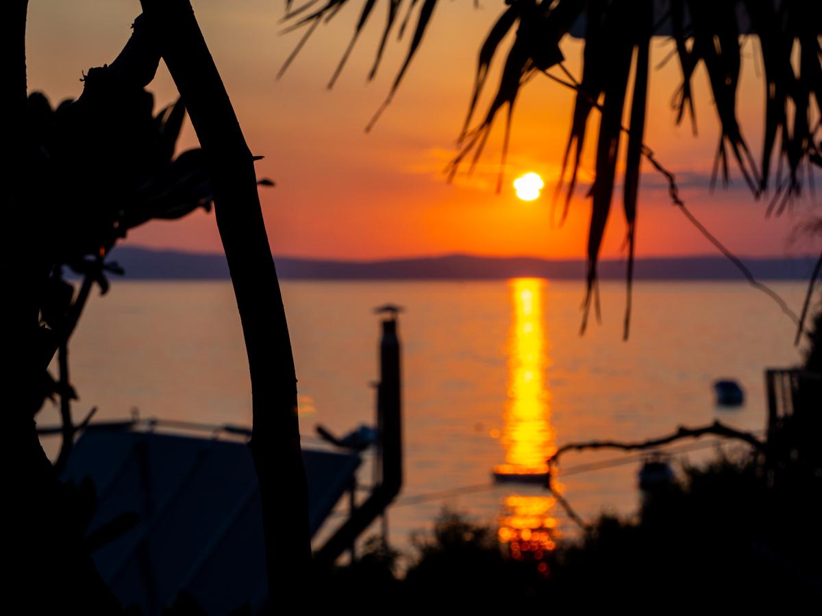 Roadtrip Kroatien Rab Sonnenuntergang