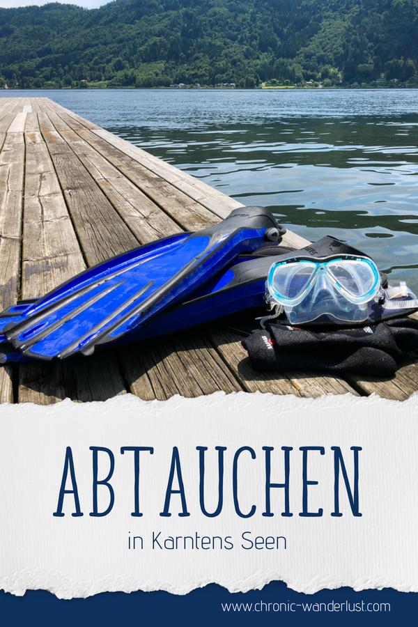 Tauchen Kärnten See