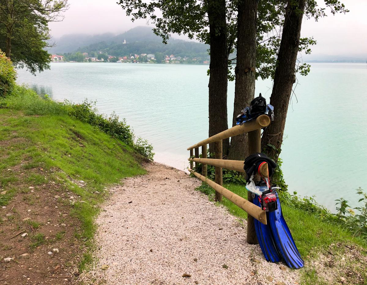 Tauchen in Kärnten Wörthersee