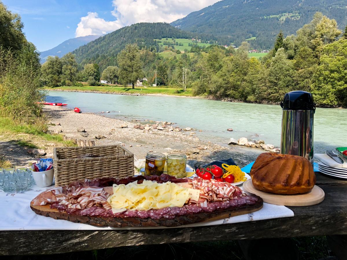 Kärnten Paddeln Drau Paddelweg