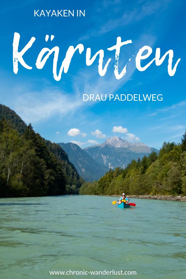 Kayaken in Kärnten