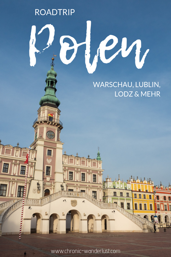 Polen Roadtrip Warschau Lodz Lublin