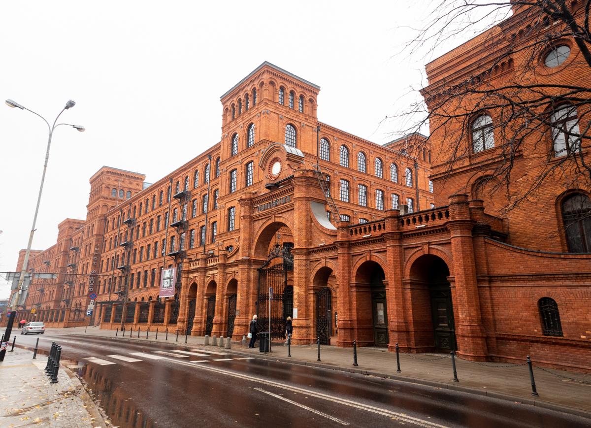 Roadtrip Polen Lodz Manufaktura