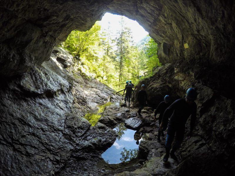 Höhlentrekking Kreidelucke Pyhrn Priel