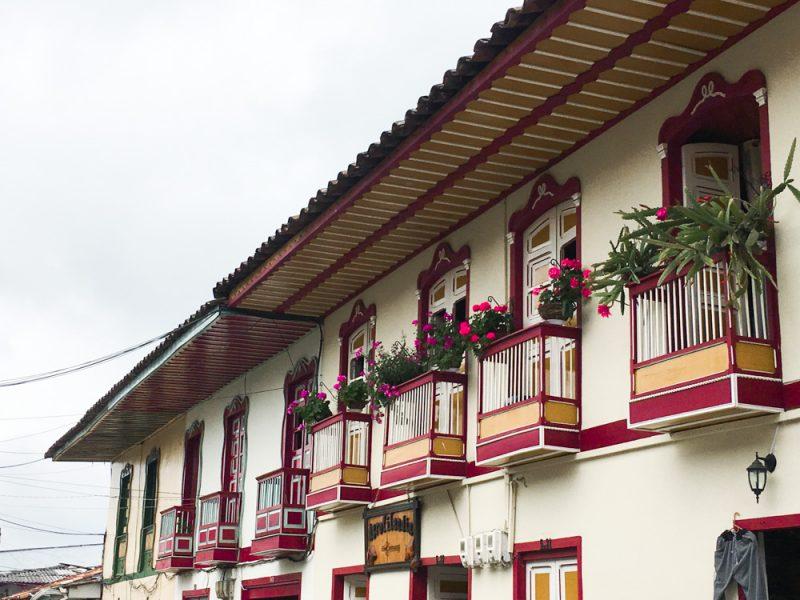 Filandia Kaffeezone Kolumbien