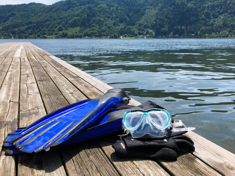 Scuba Diving in Carinthia
