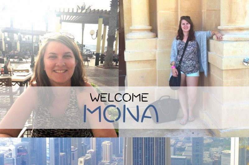 mona welcome new